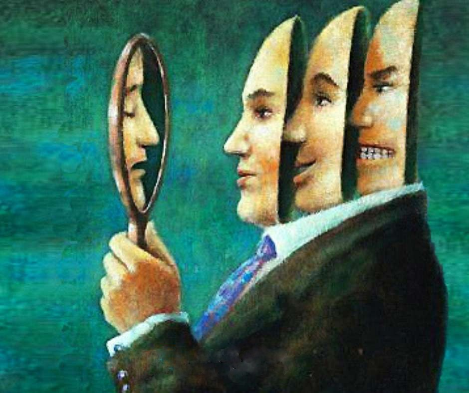 """The Mask of the """"good person"""" and its numerous """"Faces"""""""