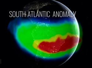 NASA says weird 'magnetic dent' in the Earth just split in two